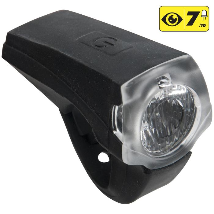 ECLAIRAGE VELO LED VIOO ROAD 900 AVANT NOIR USB - 1159454