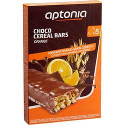 Barrita de cereales con cobertura de chocolate naranja 5 x 32 g