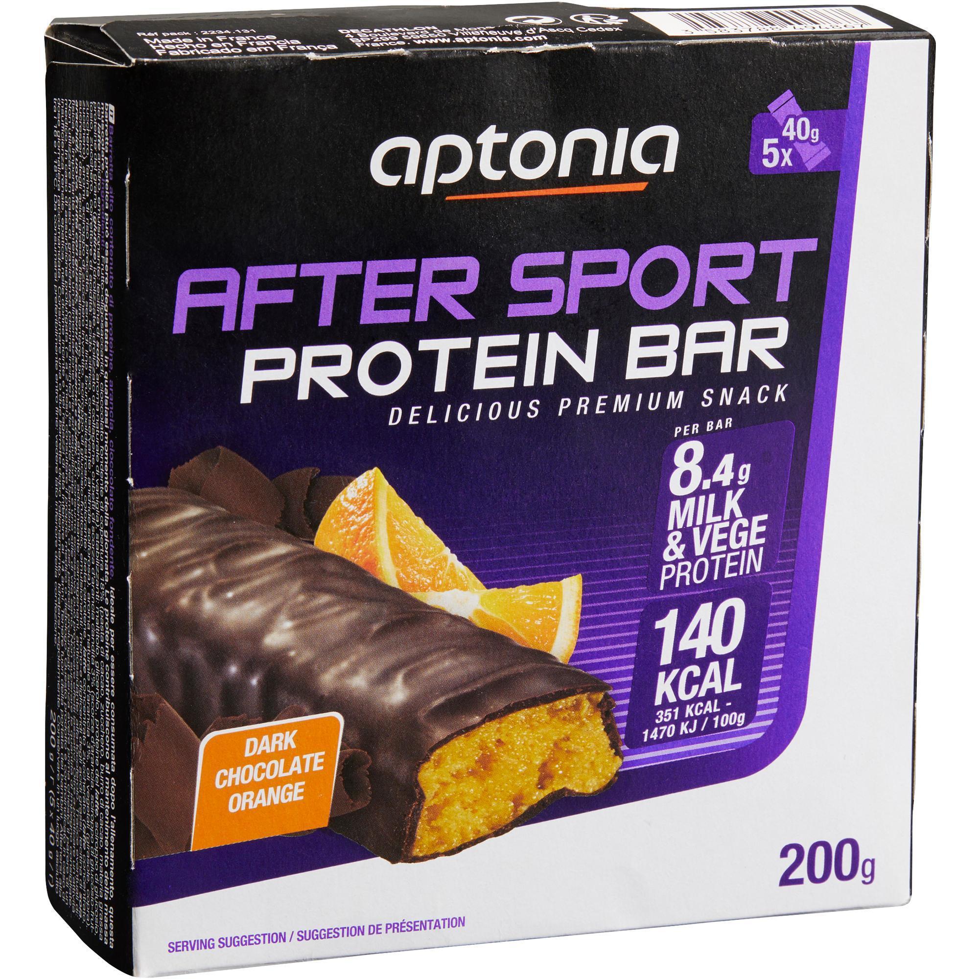 Proteinriegel Eiweißriegel After Sport Schoko/Orange 5 נ40 g