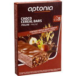Barre de céréales enrobée Chocolat Pralin 5x32g