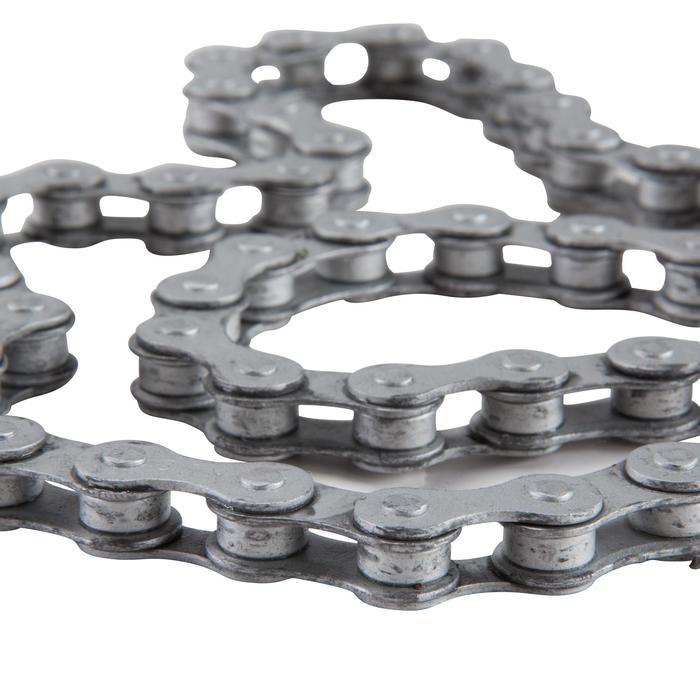 Fahrradkette 1-Gang grau