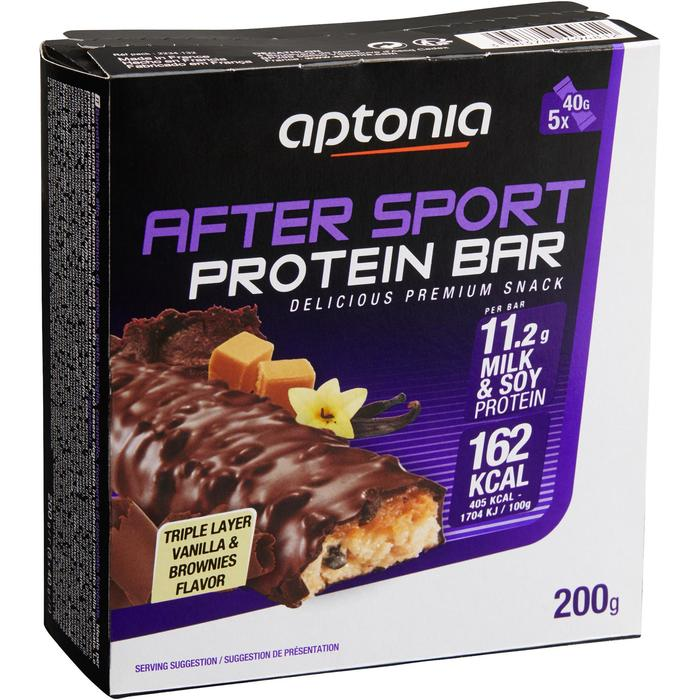 Barre protéinée AFTER SPORT brownie 5x40g - 1159555