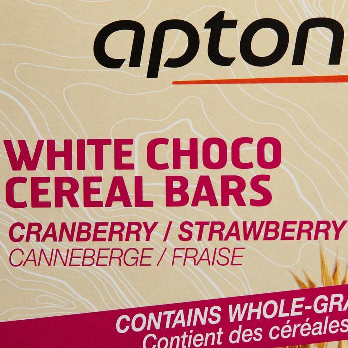 Barre de céréales enrobée Chocolat Blanc Fraise Cranberries 5x32g - 1159565