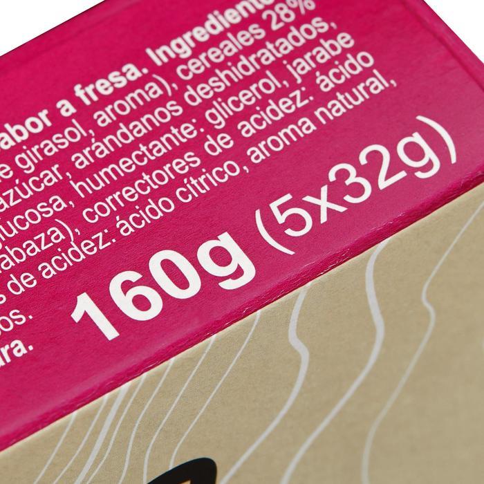 Barre de céréales enrobée Chocolat Blanc Fraise Cranberries 5x32g - 1159570