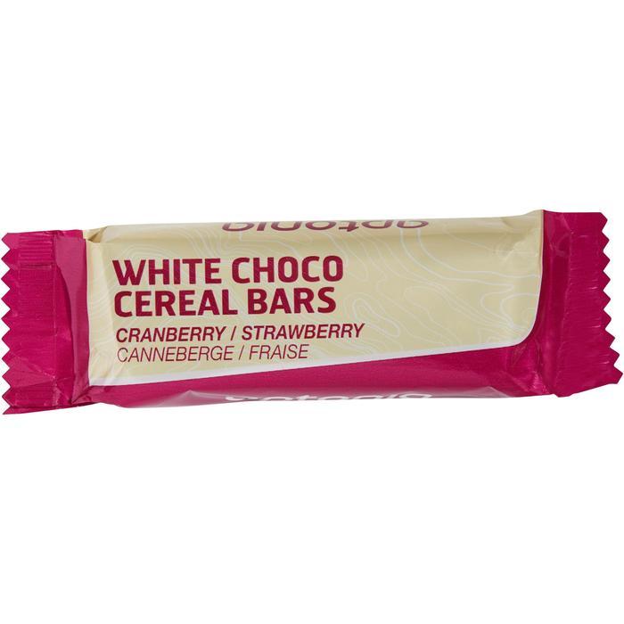 Barre de céréales enrobée Chocolat Blanc Fraise Cranberries 5x32g - 1159572