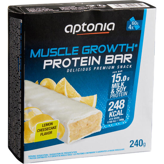 Eiwitrepen MUSCLE GROWTH praliné chocolade 4 x 60 g - 1159610