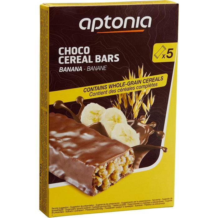 Barre de céréales enrobée Chocolat Banane 5x32g - 1159638