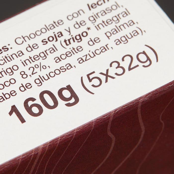 Barre de céréales enrobée Chocolat Coco 5x32g - 1159640