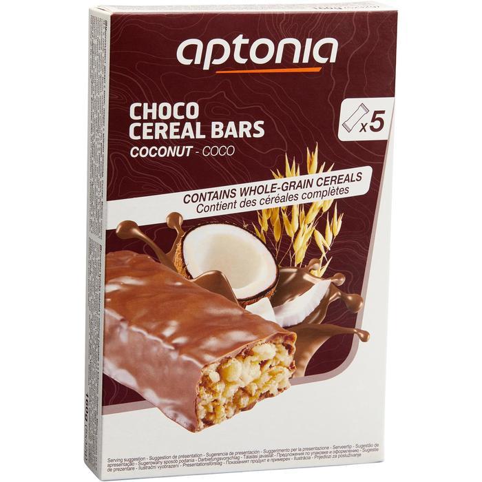 Barre de céréales enrobée Chocolat Coco 5x32g - 1159647