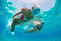 Dames bikinibroekje Nina Isiketu voor surfen - 1159777