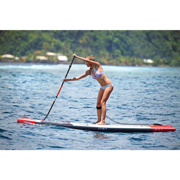 Bas de maillot de bain femme culotte NIKI COLORB avec fronces côté - 1159812
