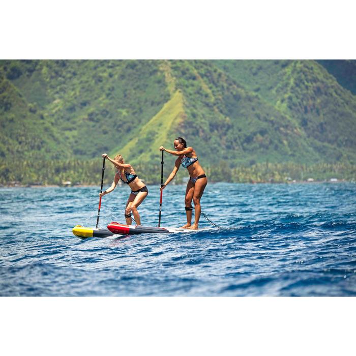 Haut de maillot de bain femme brassière de surf ISA NCOLO avec dos ultra dégagé