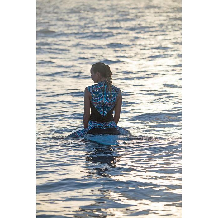 Haut de maillot de bain femme tankini avec zip dos IDYL NCOLO DORE - 1159850
