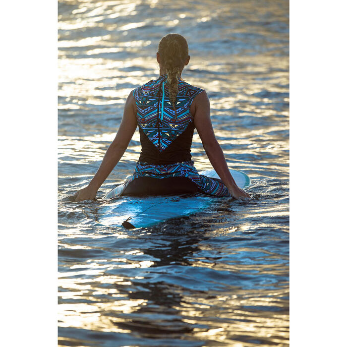 Bas de maillot de bain legging 7/8ème avec poche zippée dos UPF 50+ ZILA NCOLO - 1159856