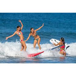 Braga Bikini Surf Anudada Olaian Sofy Foly Mujer Estampado Azúl Dorado