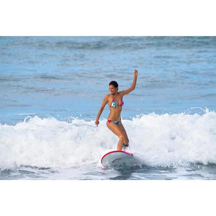 Haut de maillot de bain femme triangle coulissant avec coques MAE COLOR BLOCK FR - 1159870