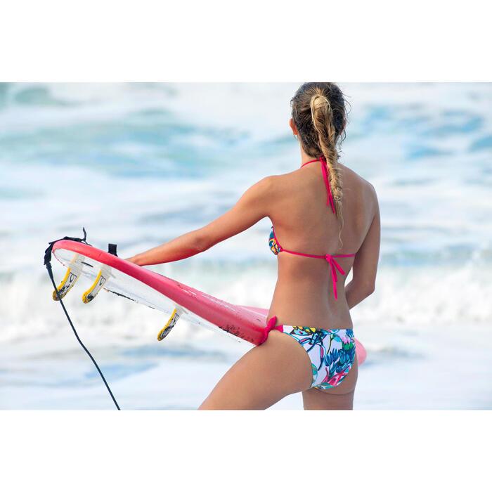 Haut de maillot de bain femme triangle coulissant avec coques MAE COLOR BLOCK FR - 1159875