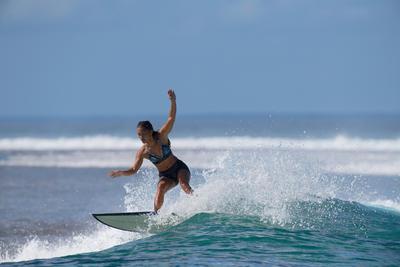Short de surf femme REVA NOIR
