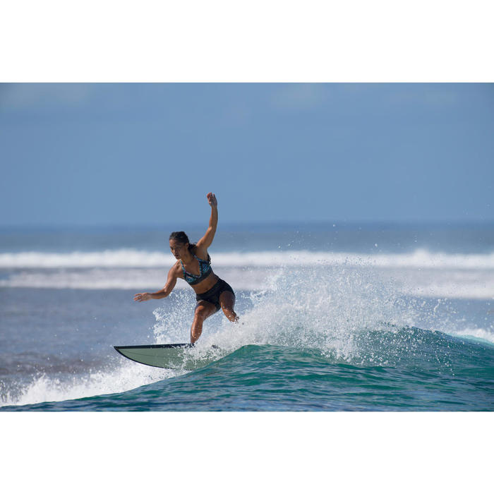 Surfshort voor dames Reva zwart