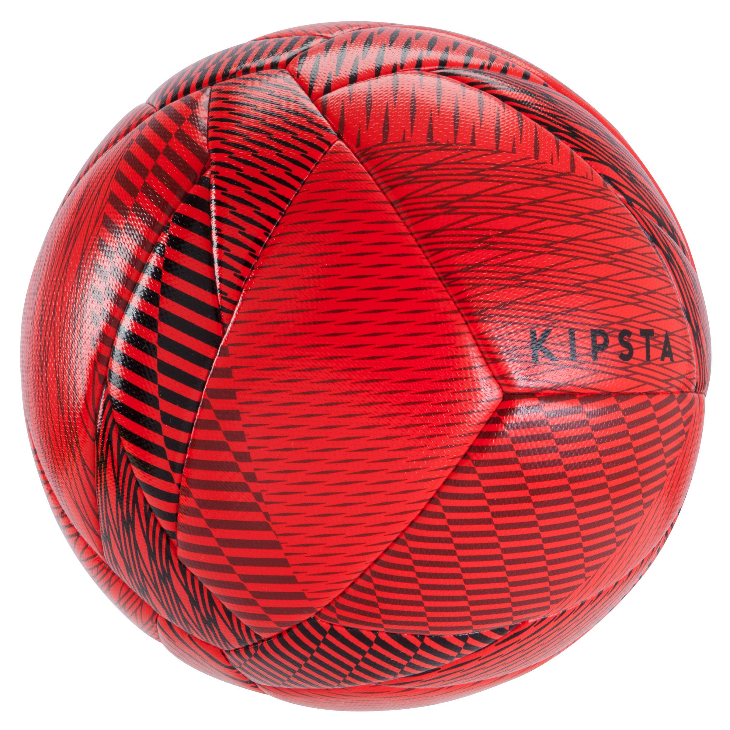 """Ballon de futsal 100 Hybride 2'1"""" rouge"""