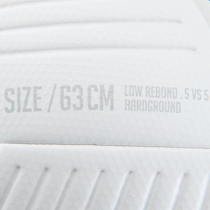 Ballon de Futsal 500 Hybride 63 cm blanc - 1159901