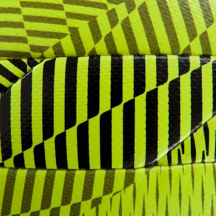 Ballon de Futsal 100 hybride taille 58 cm jaune - 1159918