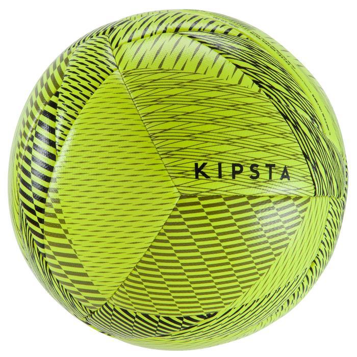 Ballon de Futsal 100 hybride taille 58 cm jaune - 1159943