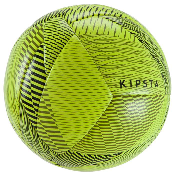 Ballon de Futsal 100 hybride taille 58 cm jaune - 1159944