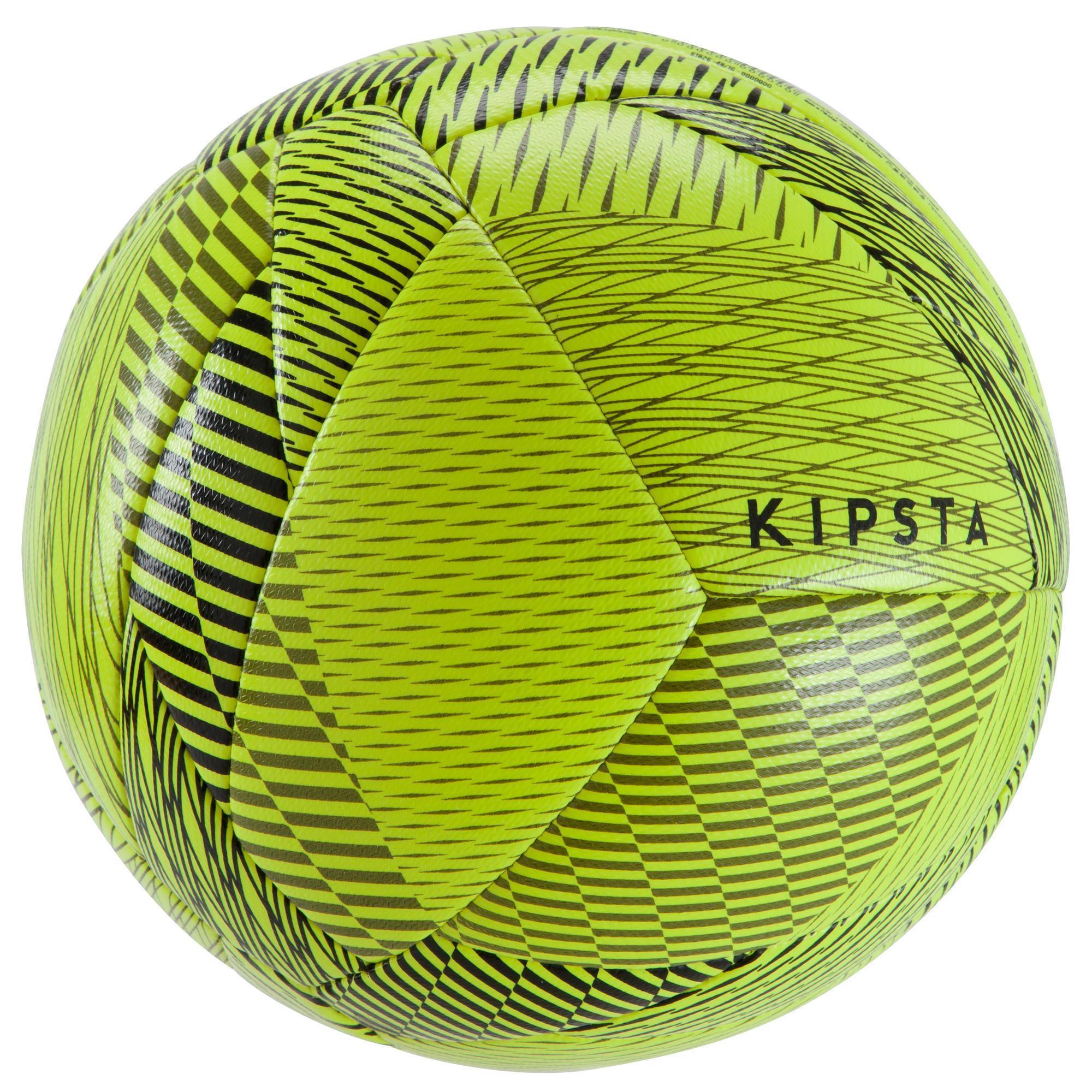Kipsta Zaalvoetbal 100 hybride maat 3 geel