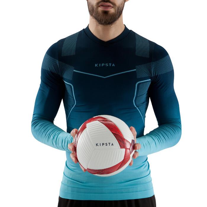 Ballon de Futsal 500 Hybride 63 cm blanc - 1159952