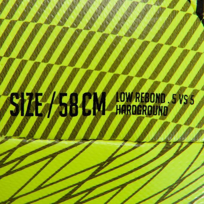 Ballon de Futsal 100 hybride taille 58 cm jaune - 1159965