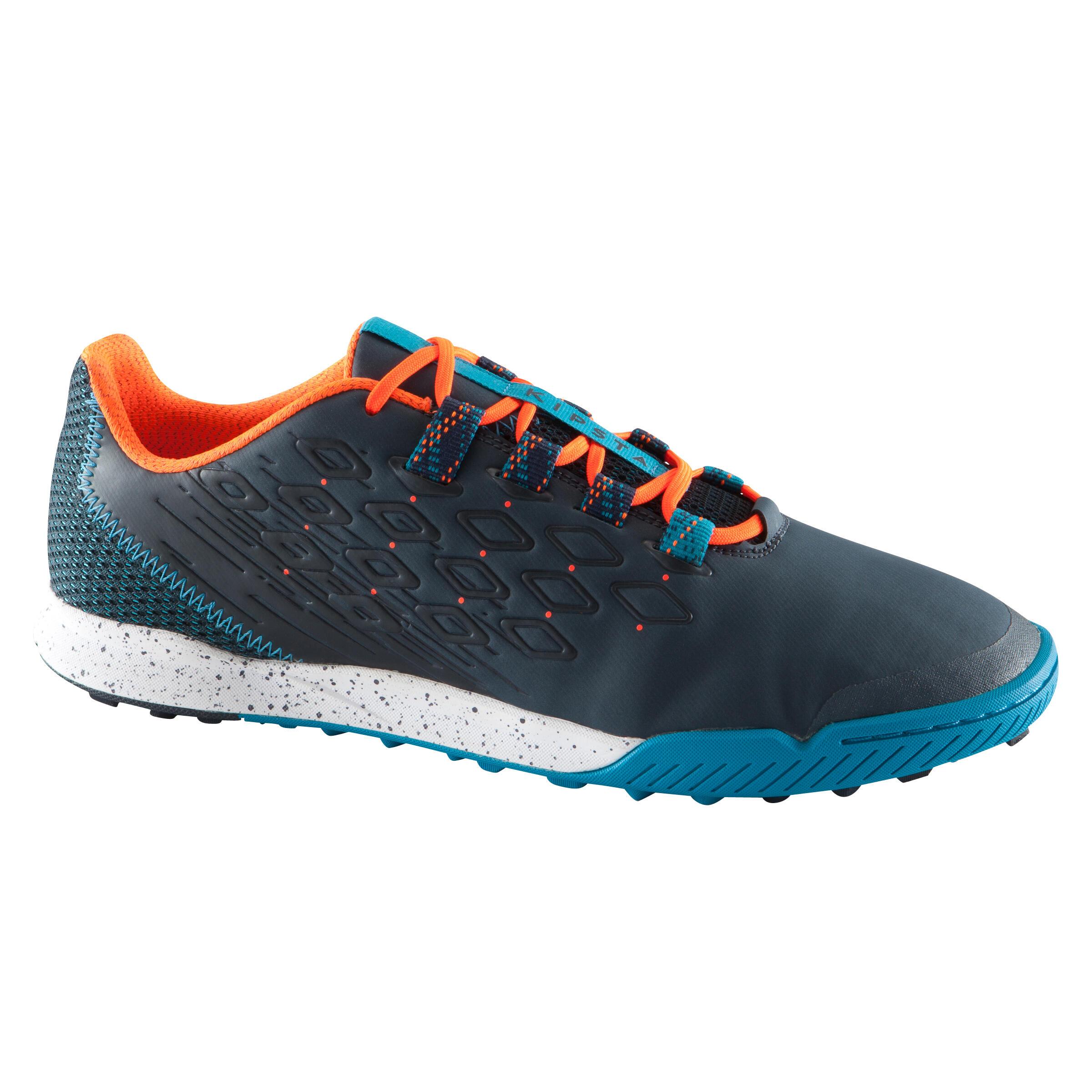 Chaussure de soccer adulte terrains durs Fifter 900 HG bleue orange