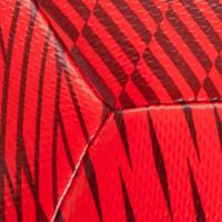 "Ballon de Futsal 100 Hybride taille 25"" rouge"