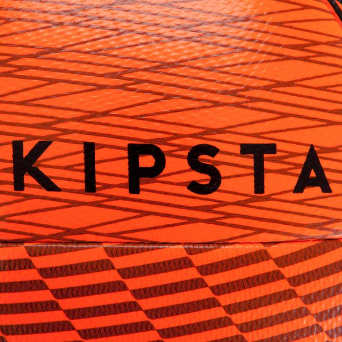 Ballon de Futsal 100 Hybride taille 63cm orange