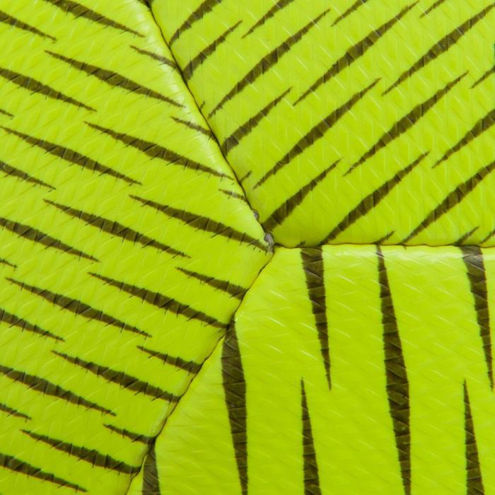 Ballon de Futsal 100 hybride taille 58 cm jaune - 1159998
