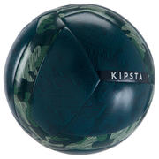 Nogometna žoga Society 100 Hybrid (velikost 4) – kaki zelena