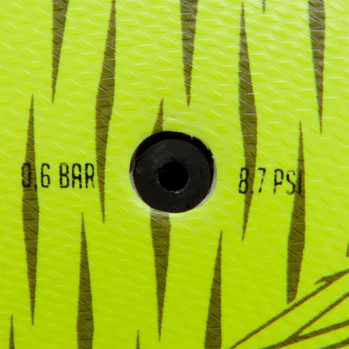 Zaalvoetbal 100 hybride maat 3 geel