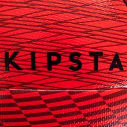 Ballon de Futsal 100 Hybride 63cm rouge