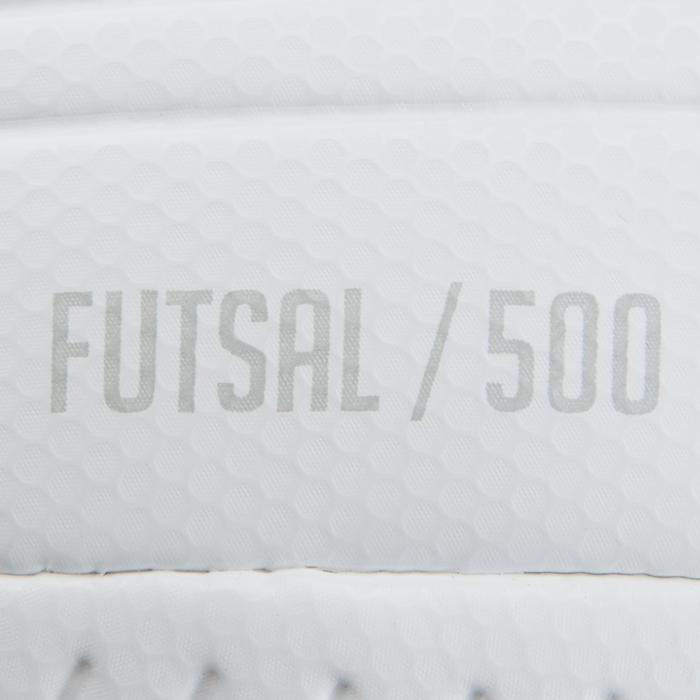 Ballon de Futsal 500 Hybride 63 cm blanc - 1160027