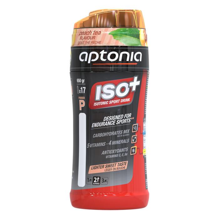 Boisson isotonique poudre ISO+ thé pêche 650g - 1160079