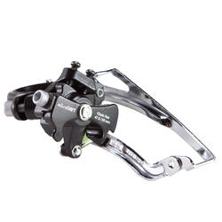 Double and Triple Chainwheel Front Derailleur