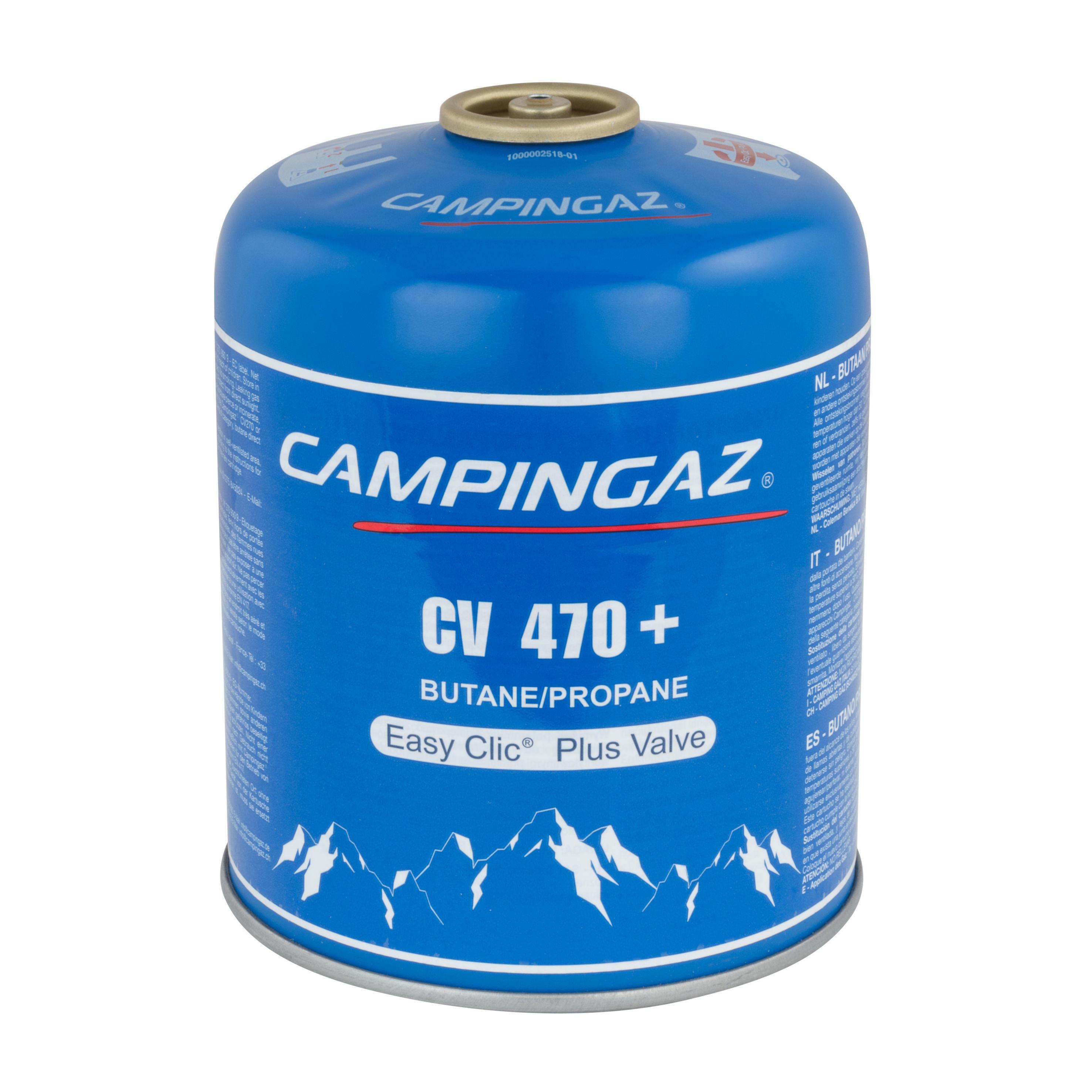 Campingaz Gasbusje met ventiel voor kooktoestel CV470 + (450 gram)
