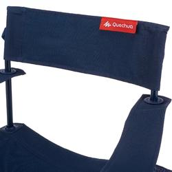 Vouwstoel Basic voor de camping blauw