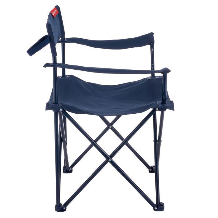 Campingstuhl faltbar Basic blau