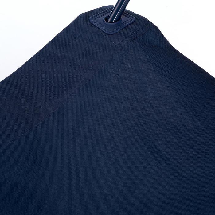 Kampeerstoel basic blauw