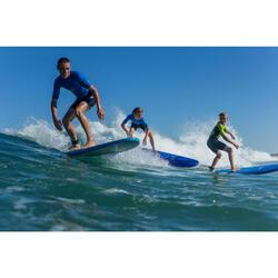 Traje surf Shorty 100 Neopreno Niños Azul