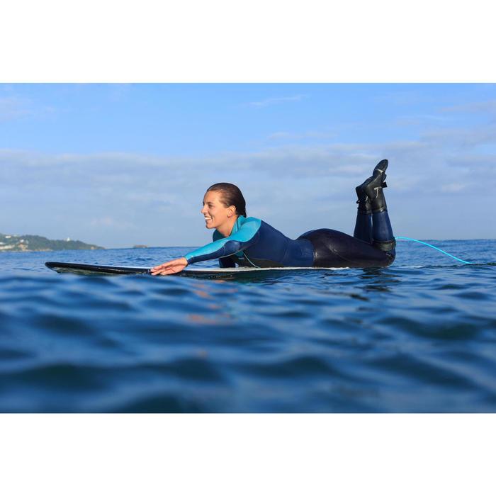 Combinaison Surf 900 Néoprène 5/4/3 mm Femme grise - 1160649