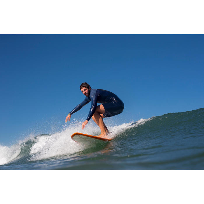 Neoprenanzug Shorty Surfen 500 langarm Herren blau