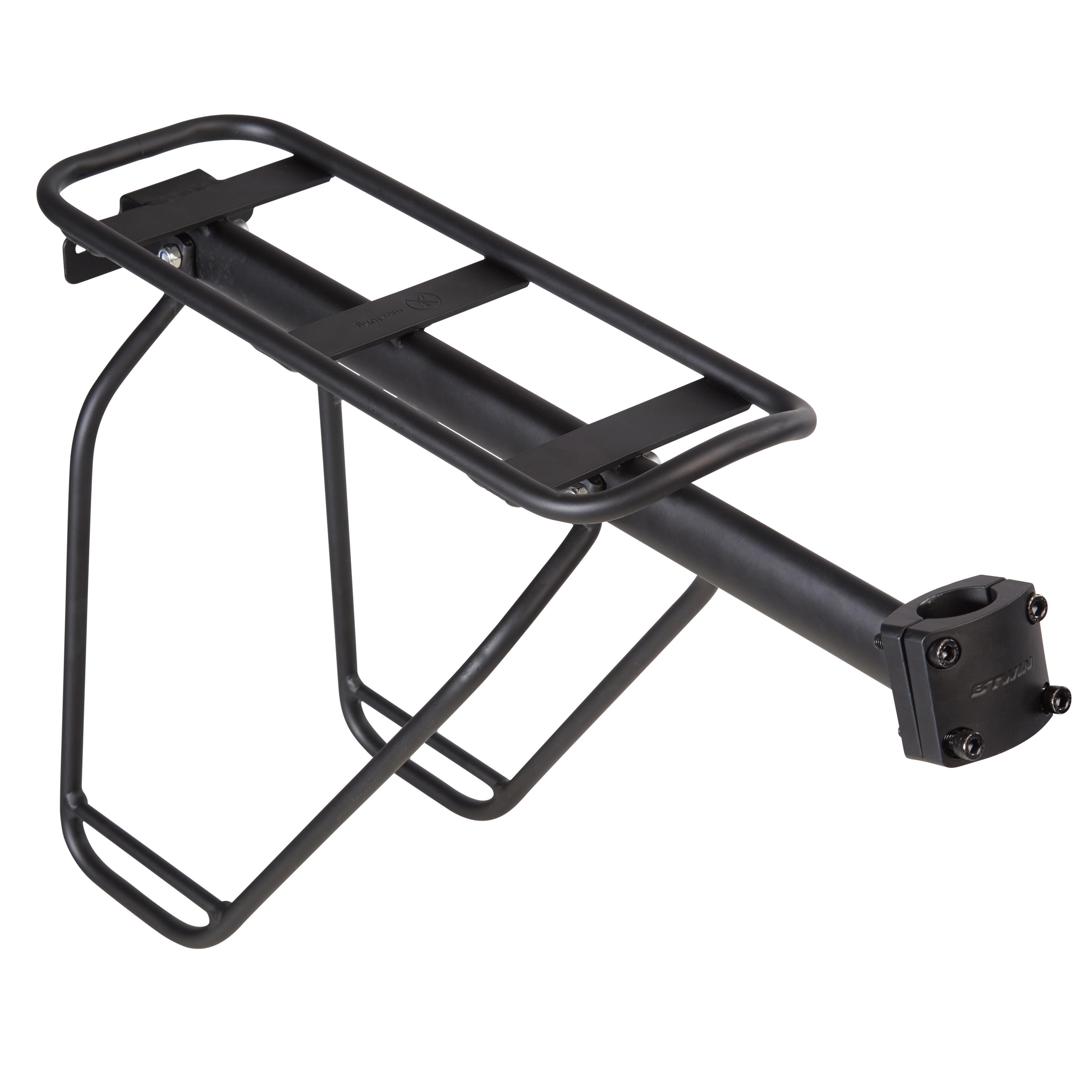 B'twin   fietsen   bagagedrager   bagagedrager 500 zadelpen. ontworpen voor: wie af en toe dagelijkse spullen ...