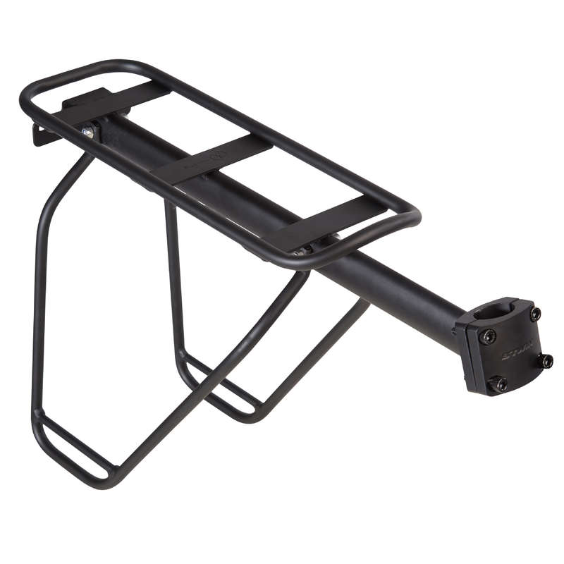 BIKE RACKS Cycling - 500 Seat Post Pannier Rack B'TWIN - Bike Travel, Storage and Transport